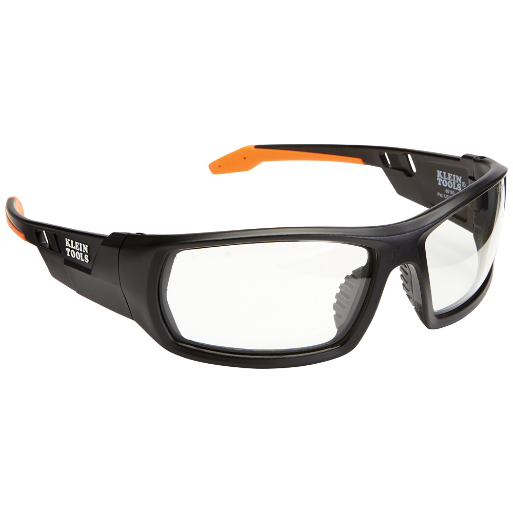 Professional Safety Glasses, Full Frame, Clear Lens