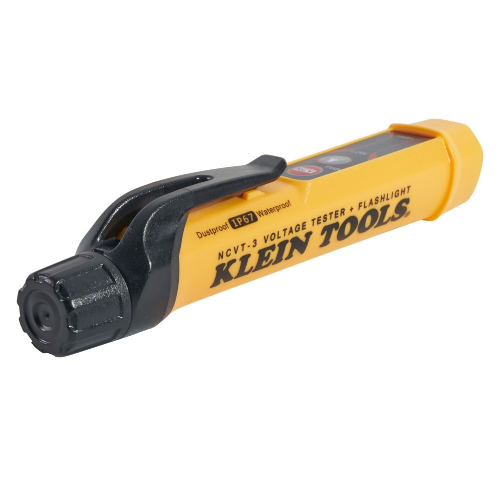 Klein Voltage Tester : Non contact voltage tester torch ncvt klein tools