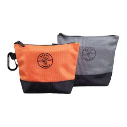 55470 Zippered Bag, Stand-Up Tool Pouch, 2-Pack
