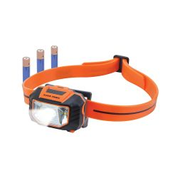 56220 LED Headlamp with Silcone Hard Hat Strap