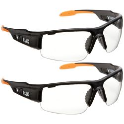 60172 PRO Safety Glasses, Wide Lens, 2-Pack