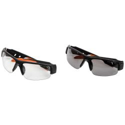 PRO Safety Glasses, Semi-Frame, Combo Pack