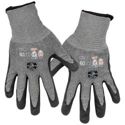 Work Gloves, Cut Level 2, Touchscreen, X-Large, 2-Pairs