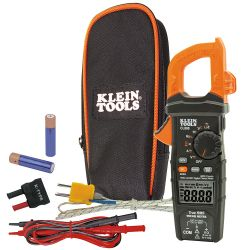 CL800 Digital Clamp Meter, AC Auto-Range TRMS, Low Impedance (LoZ), Auto-Off