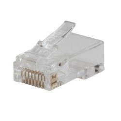 VDV826-702 Pass-Thru™ Modular Data Plug - CAT5E, 50-Pk